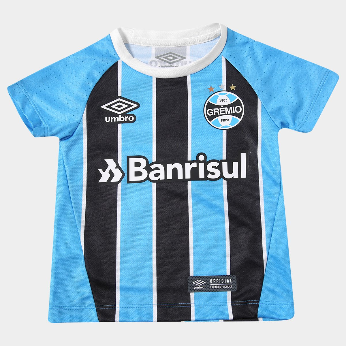557094d3e3cac Camisa Grêmio Infantil I 17 18 Nº 10 Torcedor Umbro - Compre Agora ...