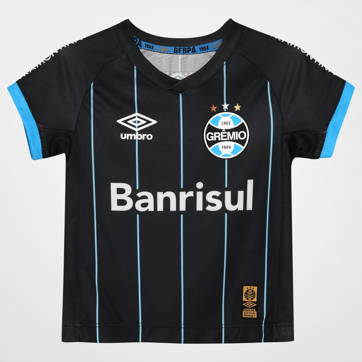 b6b217944c Camisa Grêmio Infantil IV 2015 nº 10 Torcedor Umbro - Compre Agora ...