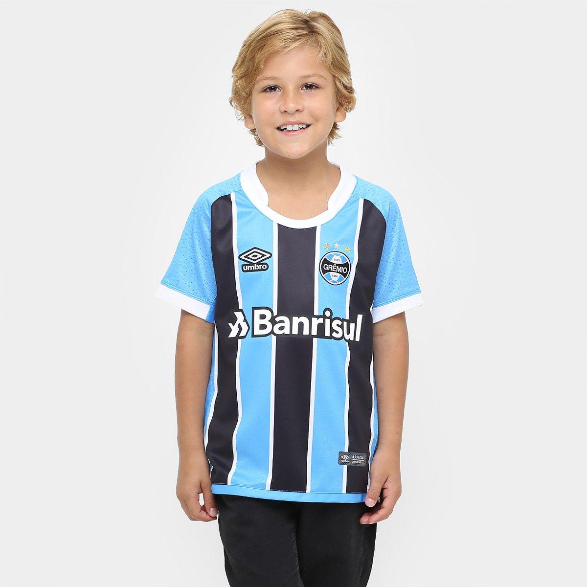 Camisa Grêmio Juvenil I 17 18 s nº Torcedor Umbro - Compre Agora ... 9246cc53eb7f3