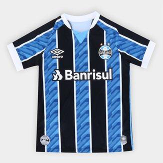 Camisa Grêmio Juvenil I 20/21 s/n° Torcedor Umbro