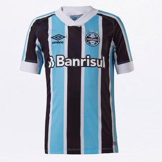 Camisa Grêmio Juvenil I 21/22 s/n° Torcedor Umbro