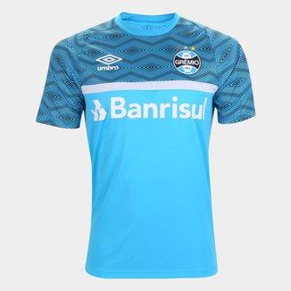 Camisa Grêmio Treino 21/22 Umbro Masculina
