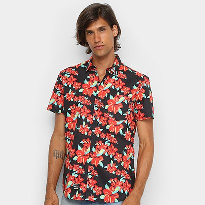 Camisa Grizzly Button Up Masculina - Masculino