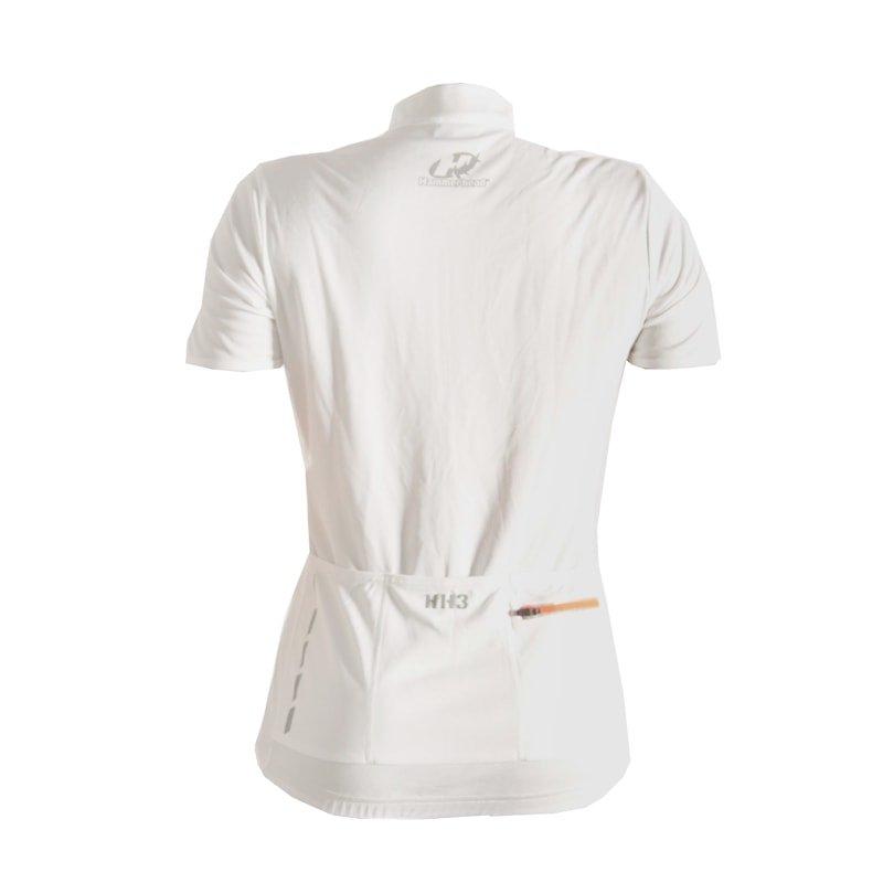 Para Branco Camisa Camisa e Hammerhead Feminina Laranja Hammerhead Para Ciclismo 1I6qp