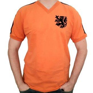 Camisa Holanda Mecanica 1974 Retrô Mania - Masculino