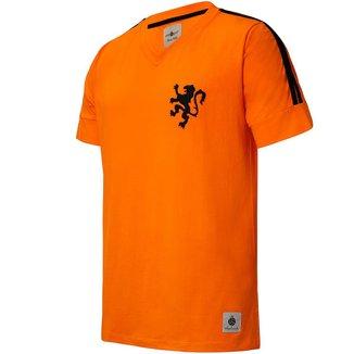 Camisa Holanda Retrô 1974 Cruyff Masculina