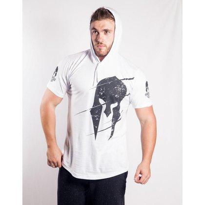 Camisa Império Fitness com Capuz Logo Masculina