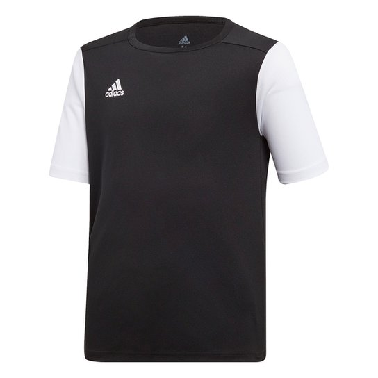 Camisa Infantil Adidas Estro 19 - Preto