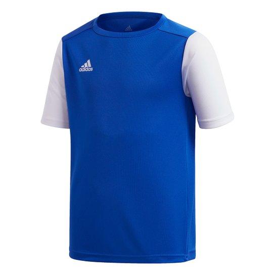 Camisa Infantil Adidas Estro 19 - Azul