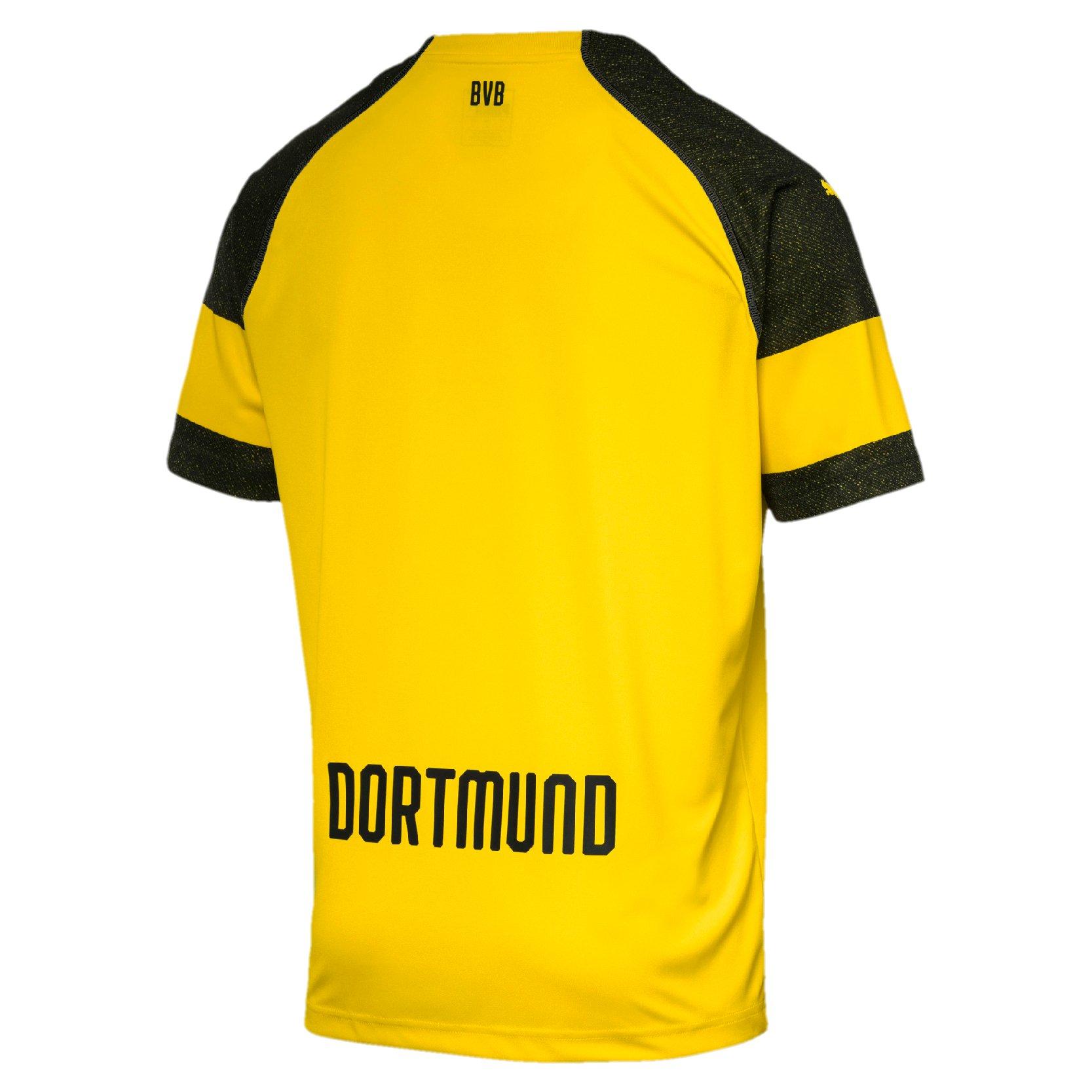 Dortmund Borussia Amarelo Home s Puma 19 Infantil Torcedor Camisa 18 n° qHT5EPvw
