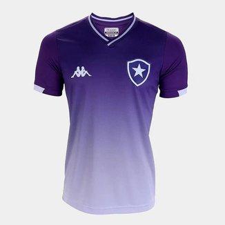 Camisa Infantil Botafogo Kappa Goleiro I 2019 Masculina