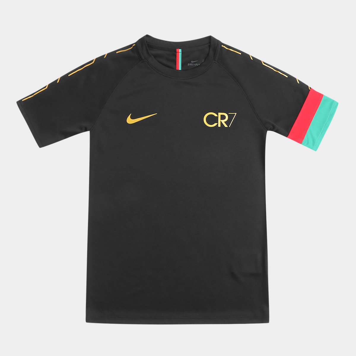 Camisa Infantil CR7 Nike Dry Academy Top SS Masculina - Compre Agora ... 609d825257c40