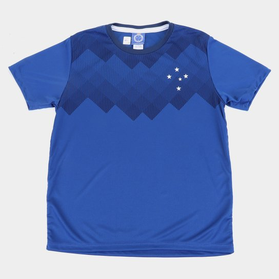 Camisa Infantil Cruzeiro Tekla - Azul