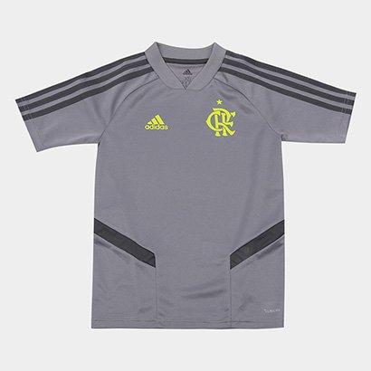 Camisa Infantil Flamengo Adidas Treino