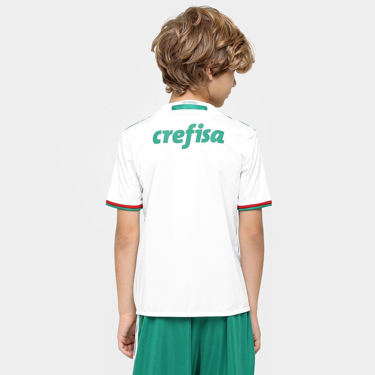 Camisa Infantil Palmeiras II 2016 s nº Torcedor Adidas - Compre ... b977ac7b777af
