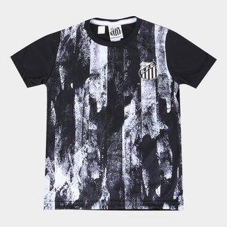 Camisa Infantil Santos Fold