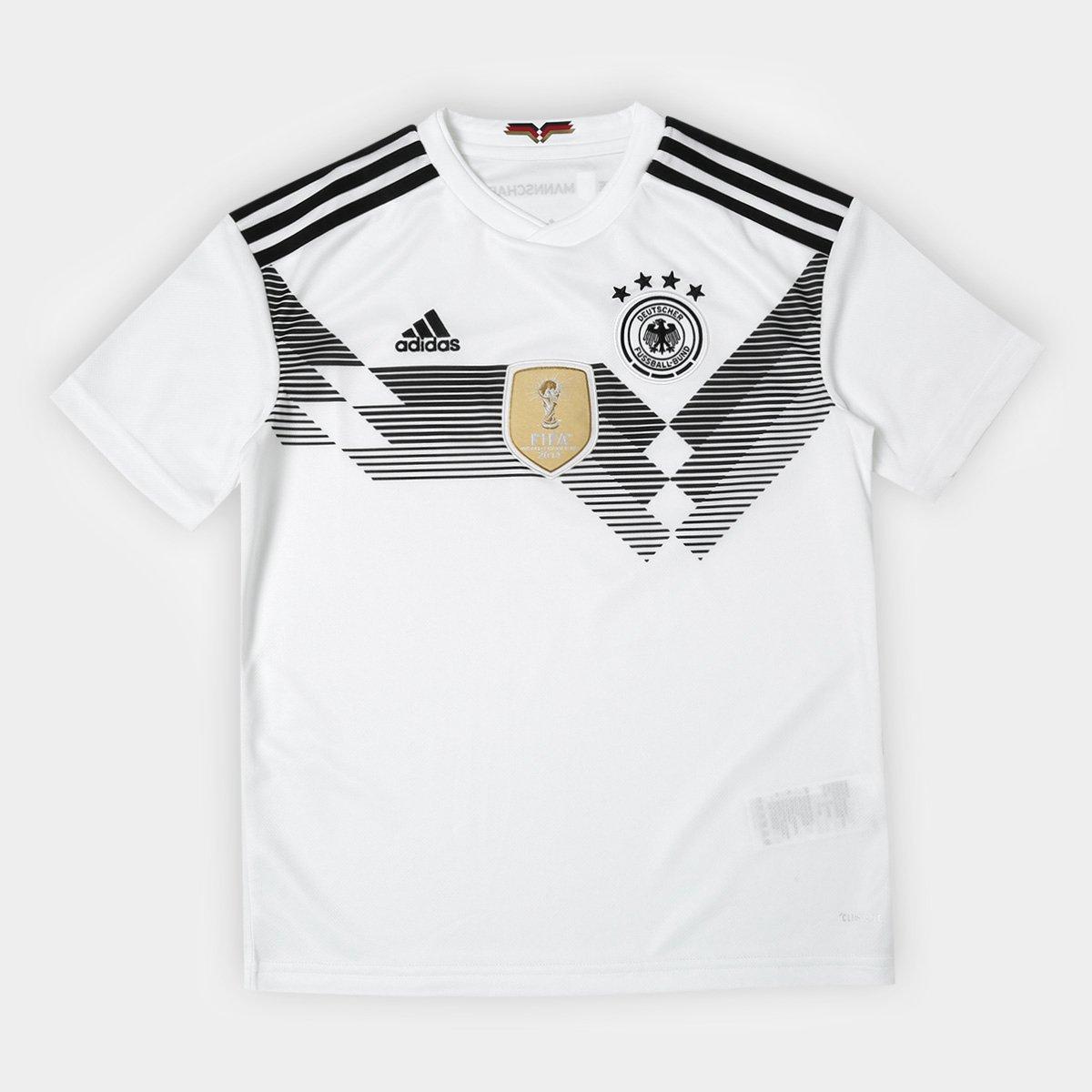 Alemanha Reus Seleção 11 Home Branco n° Camisa Infantil 2018 Adidas Torcedor EfqAH