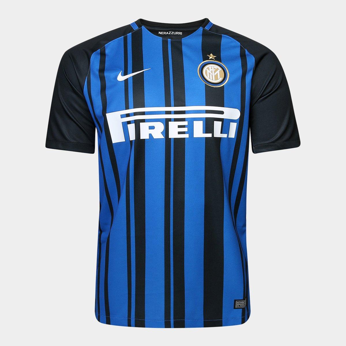 Camisa Inter De Mil U00e3o Home 17 18 S N U00b0 Torcedor Nike