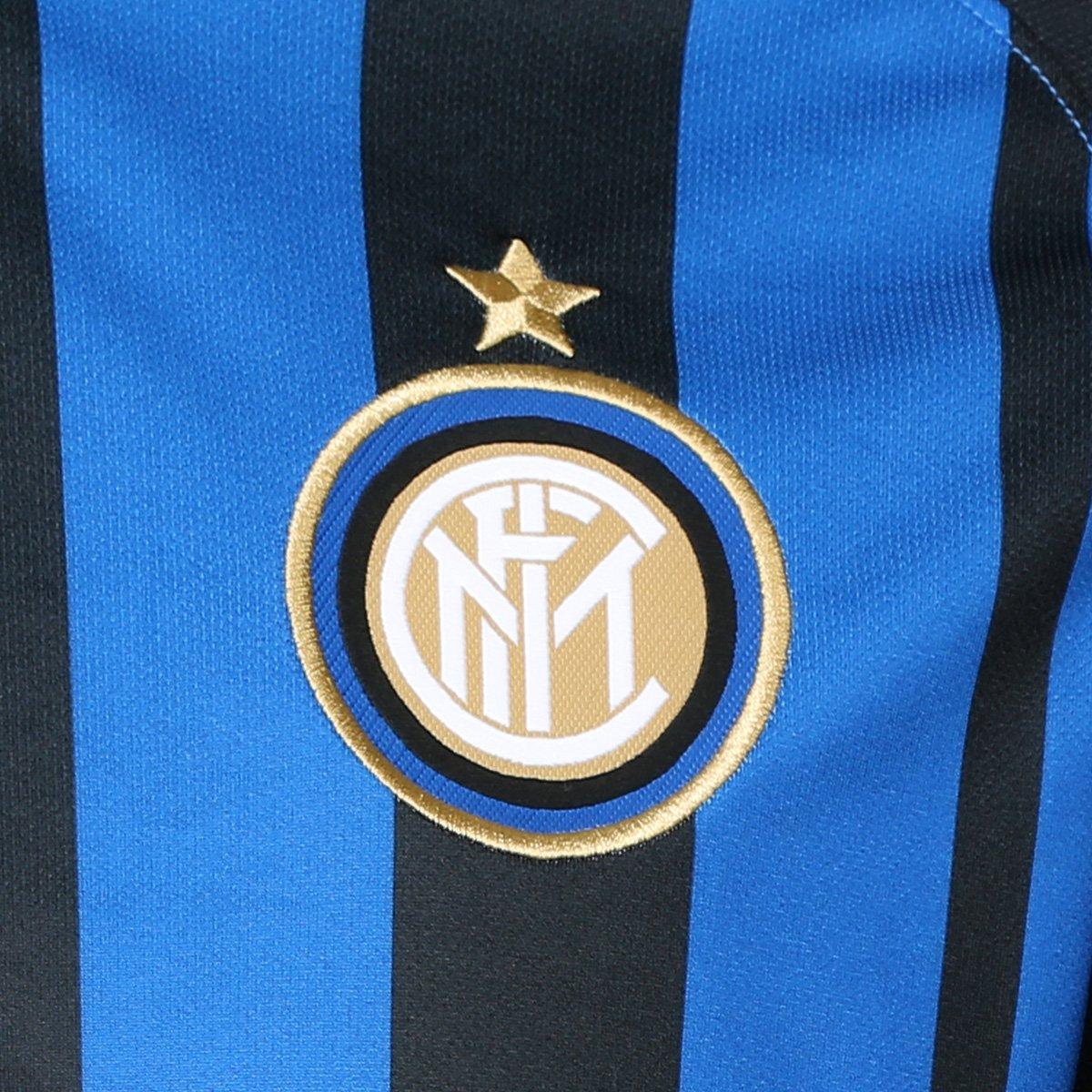 3446598cdf ... Camisa Inter de Milão Home 17 18 s n° - Torcedor Nike Masculina ...