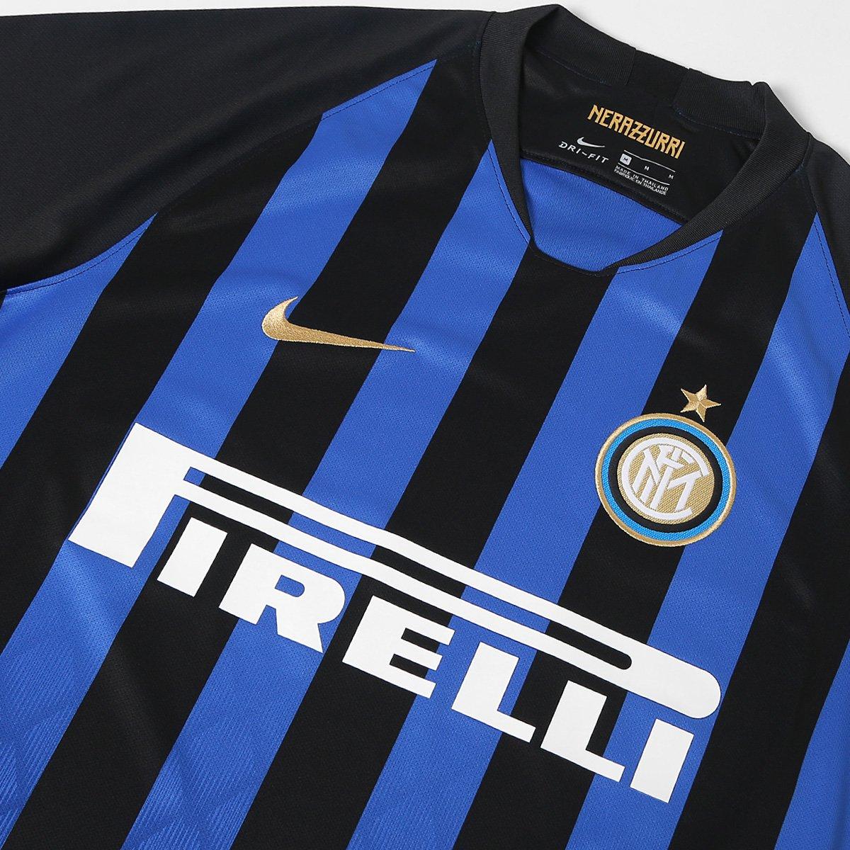 Camisa Inter De Mil U00e3o Home 2018 S N U00b0 Torcedor Nike