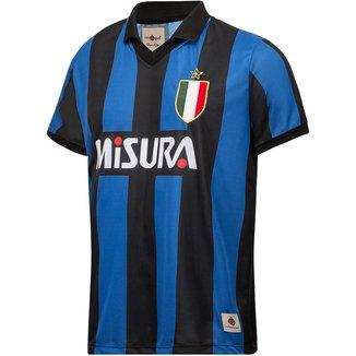 Camisa Inter de Milão Retrô 1988 Masculina