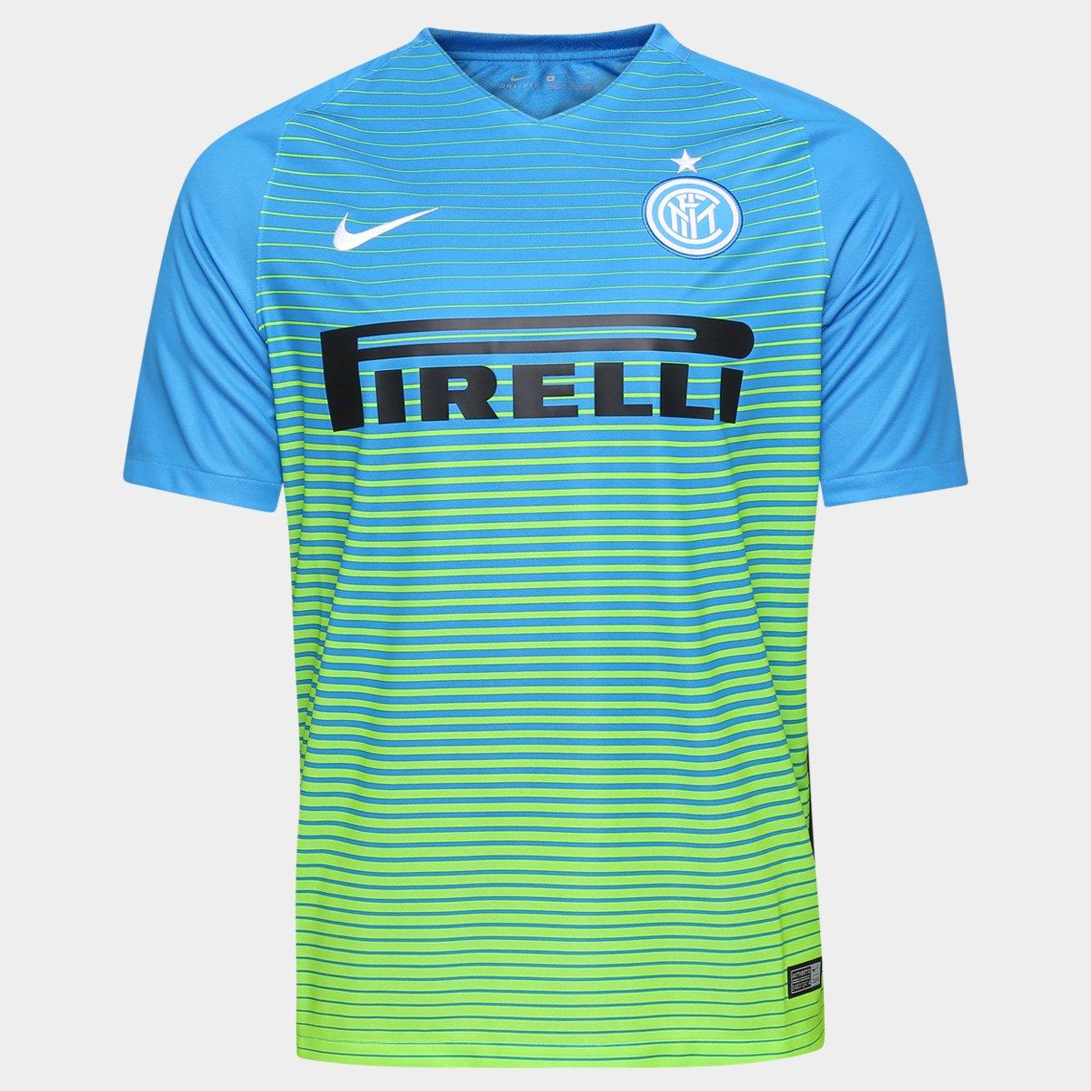 4b9cfca7be Camisa Inter de Milão Third 16 17 s nº Torcedor Nike Masculina - Compre  Agora
