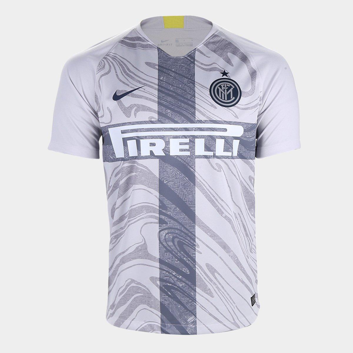 eeb0b7a971d83 Camisa Inter de Milão Third 2018 s n° - Torcedor Nike Masculina - Cinza -  Compre Agora