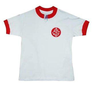 Camisa Internacional 1976 Retrô Infantil  Branca 10