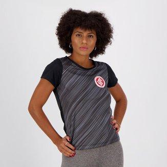 Camisa Internacional Beira Rio Preta Feminina
