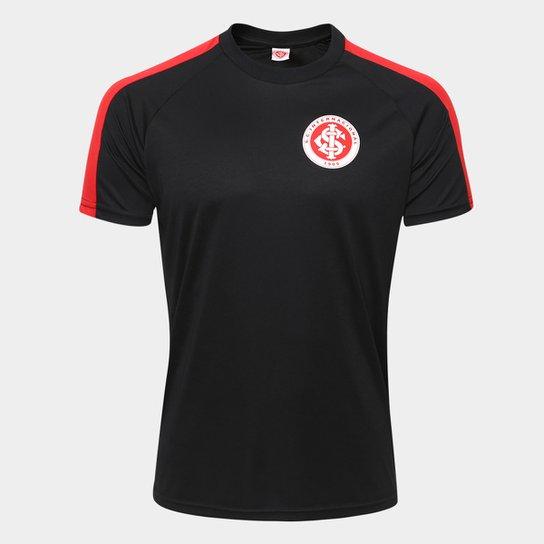 Camisa Internacional Gigante n°10 - Edição Especial Masculina - Preto+Vermelho