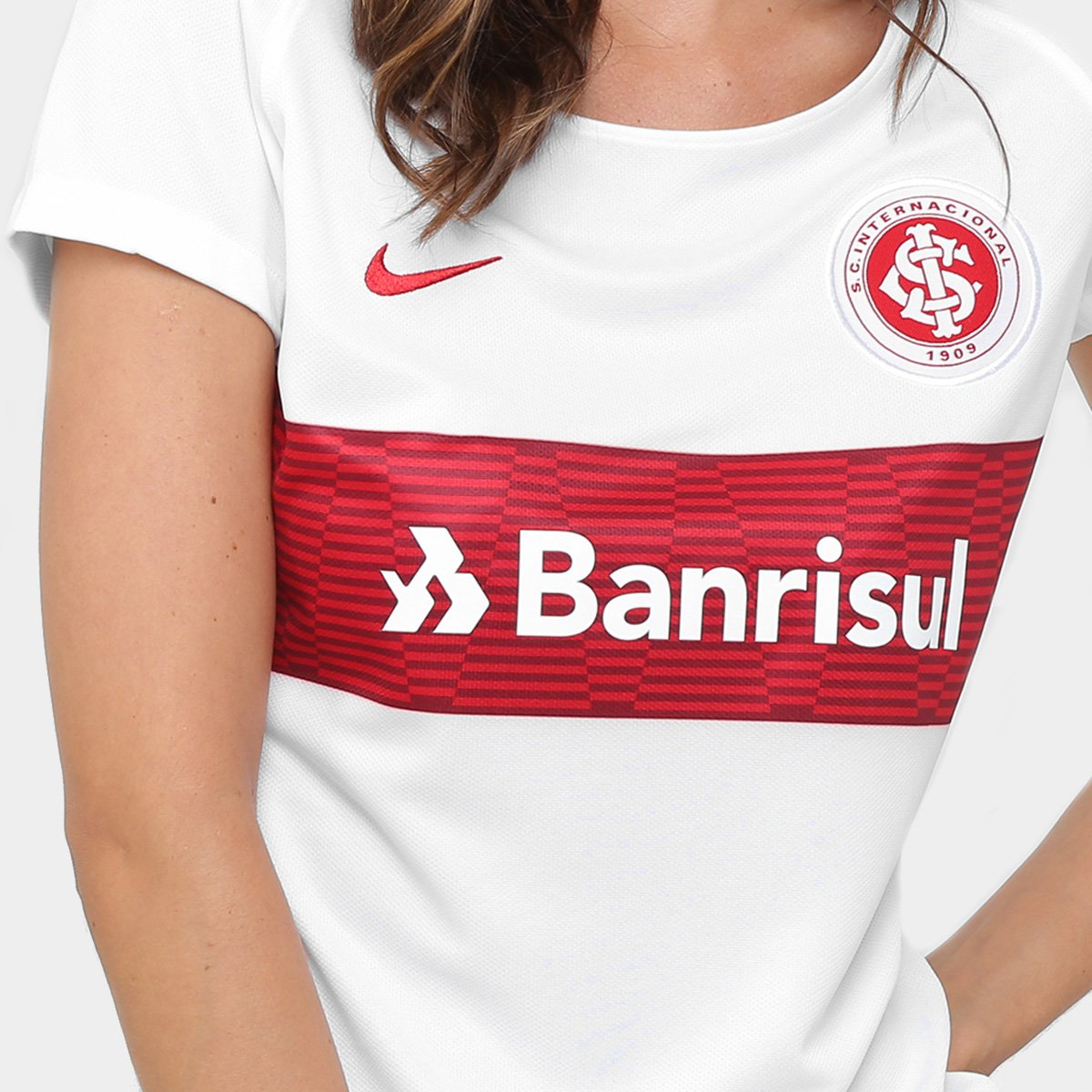 Camisa Internacional II 17 18 s nº - Torcedor Nike Feminina - Compre ... c724413b23475