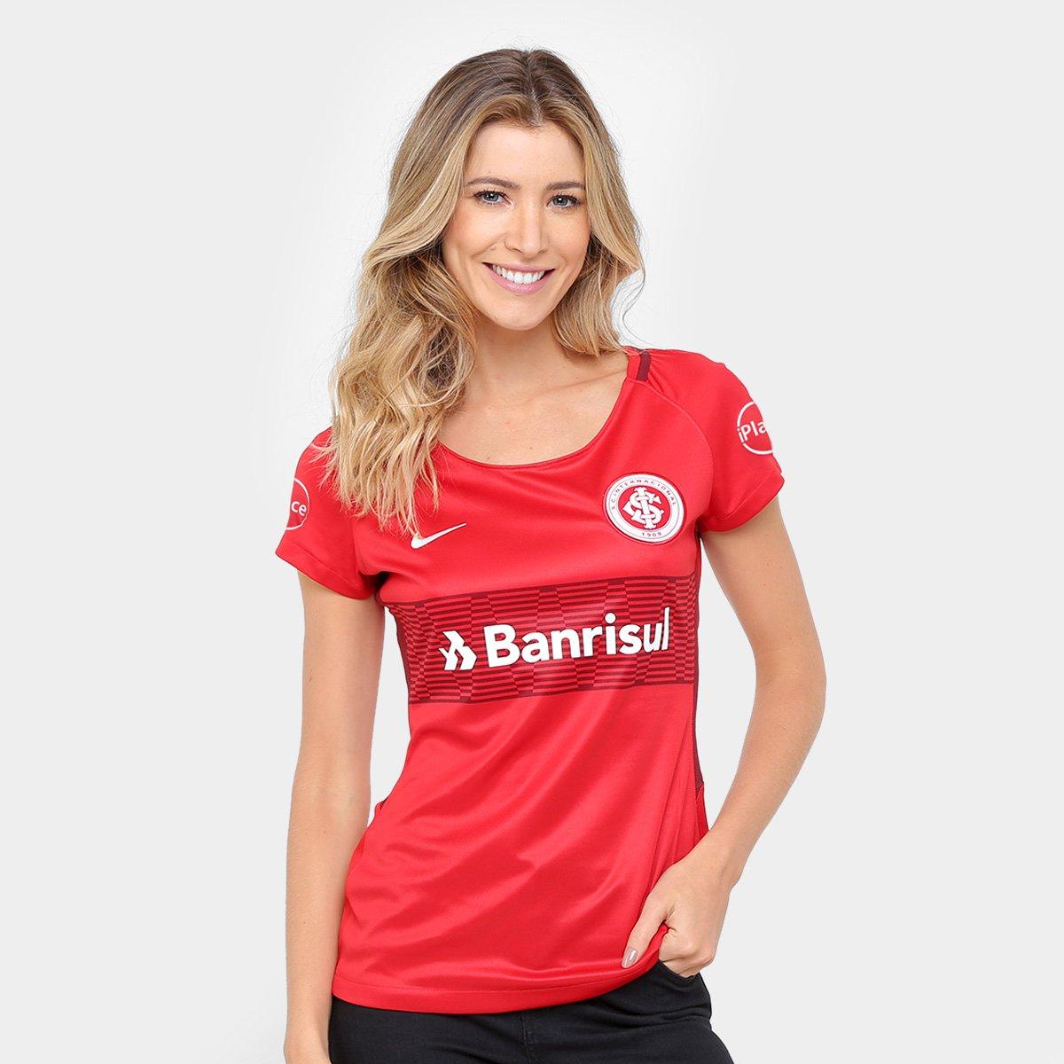 Camisa Internacional Iplace I 17 18 S Nº - Torcedor Nike Feminina - Compre  Agora  434038938fd27