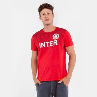 Camisa Internacional Momentus Careca Meia Malha Vermelho