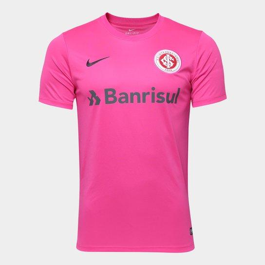 Camisa Internacional Nike Masculina - Rosa+Chumbo