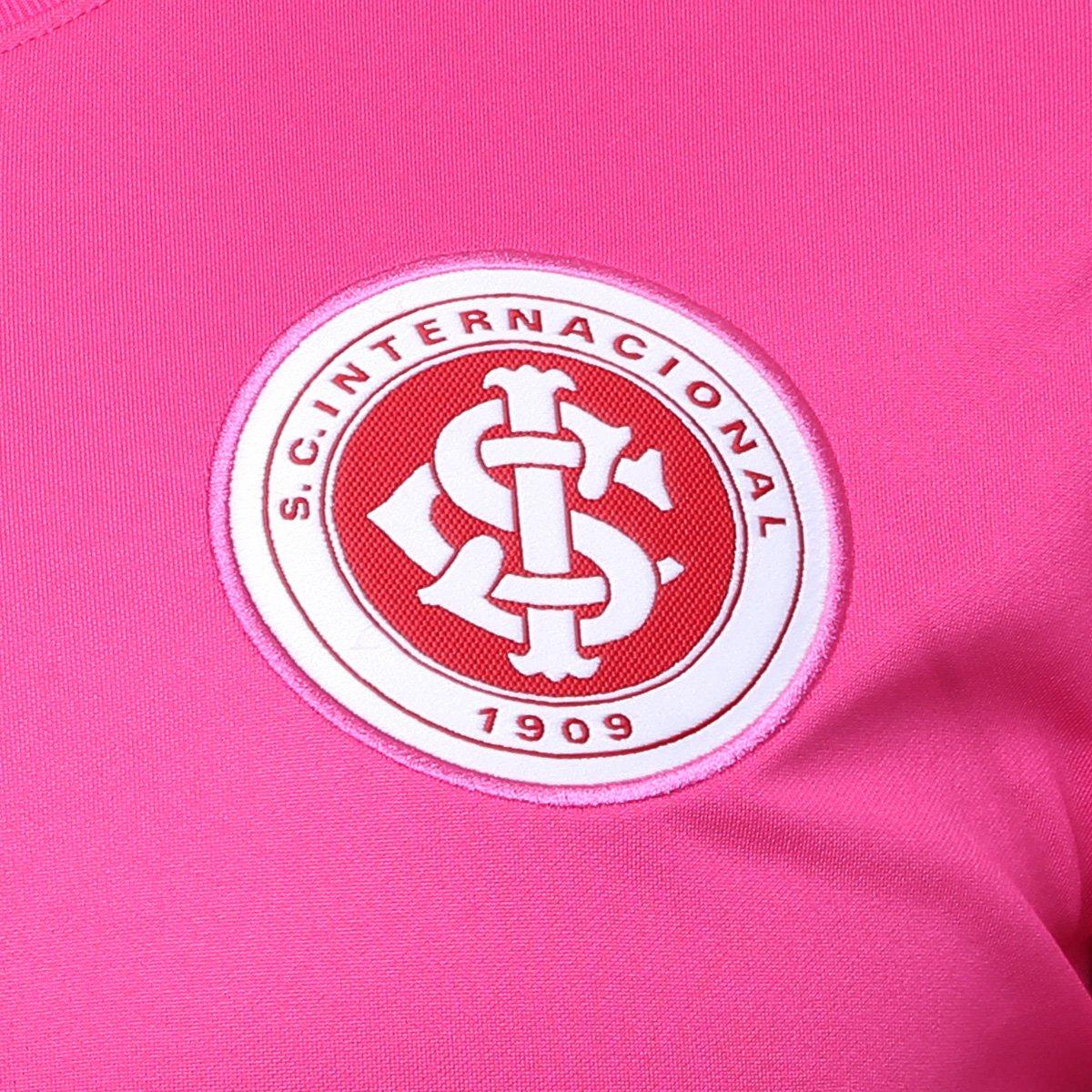 bcc6d17fb5 Camisa Internacional Outubro Rosa Nike Masculina - Rosa e Chumbo ...