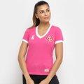 Camisa Internacional Outubro Rosa Retrô Mania Feminina