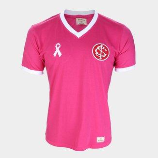 Camisa Internacional Outubro Rosa Retrô Mania Masculina
