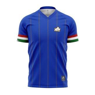 Camisa Itália Dry Rinno Force Países Masculino -