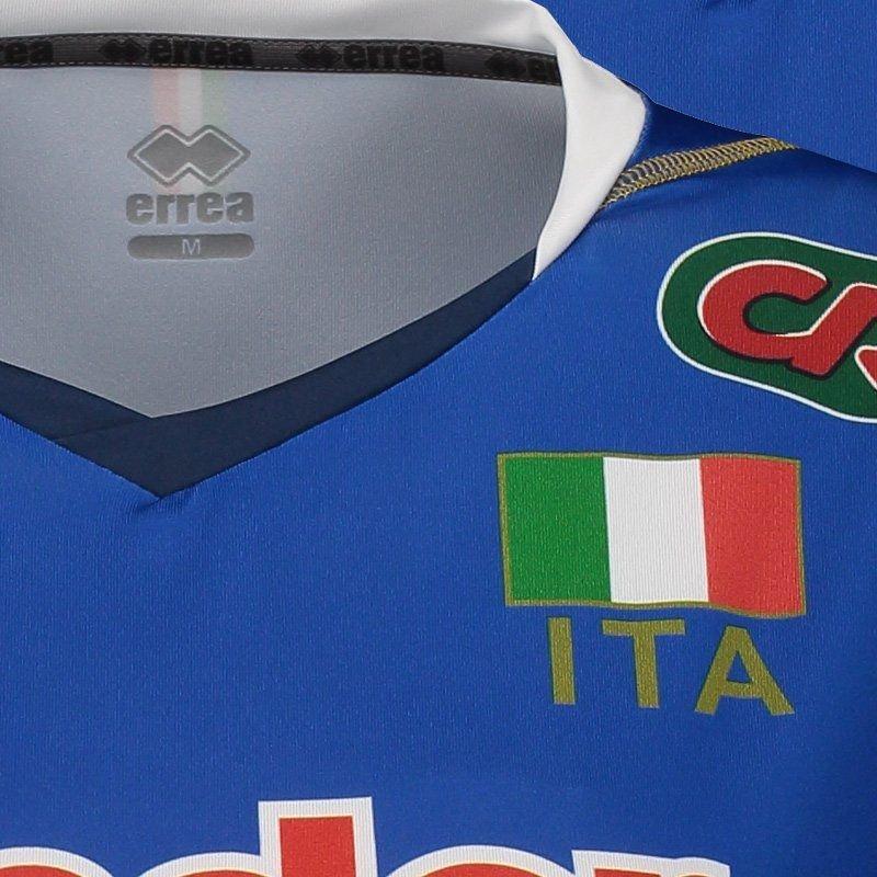 Itália Vôlei Feminina Errea 2017 Itália Azul Vôlei Home Errea 2017 Home Camisa Camisa Feminina qX0XnA6xF