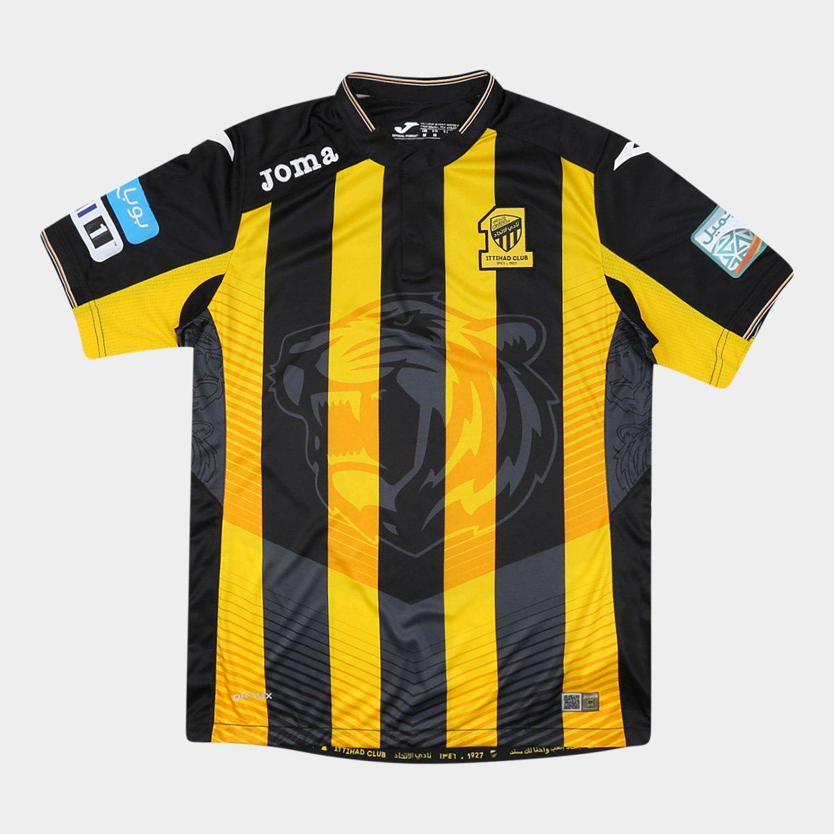 720c5d9a06 Camisa Ittihad Home 2017 s nº Torcedor Joma Masculina - Compre Agora ...