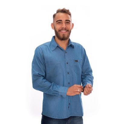 Camisa Jeans Aee Surf Masculina - Masculino