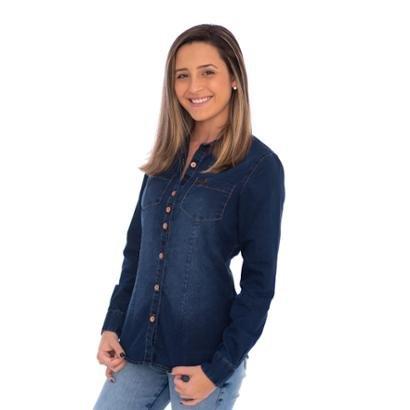 Camisa Jeans Feminina Aee Surf - Feminino