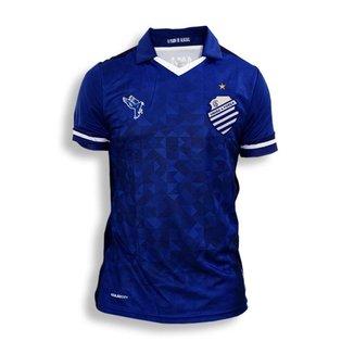 Camisa Jogador Oficial Azulão CSA N°10 Uniforme 2 Azul 2019