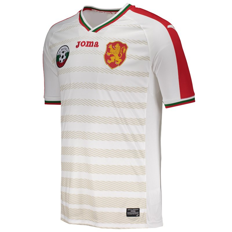 cc6481a548 Camisa Joma Bulgária Home 2017 - Compre Agora