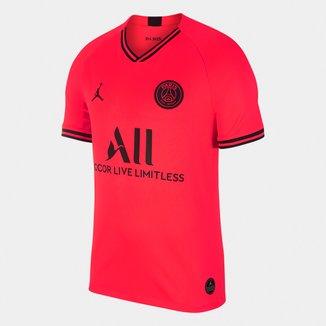 Camisa Jordan Paris Saint-Germain Away 19/20 s/n° Torcedor Nike Masculina