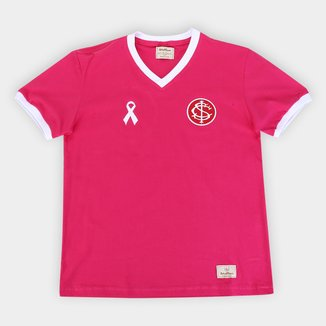 Camisa Juvenil Internacional Outubro Rosa Retrô Mania