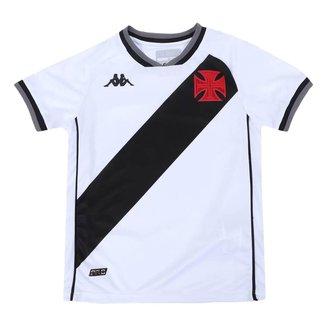 Camisa Juvenil Vasco 2021/2022 Away Branca Kappa Oficial S/N