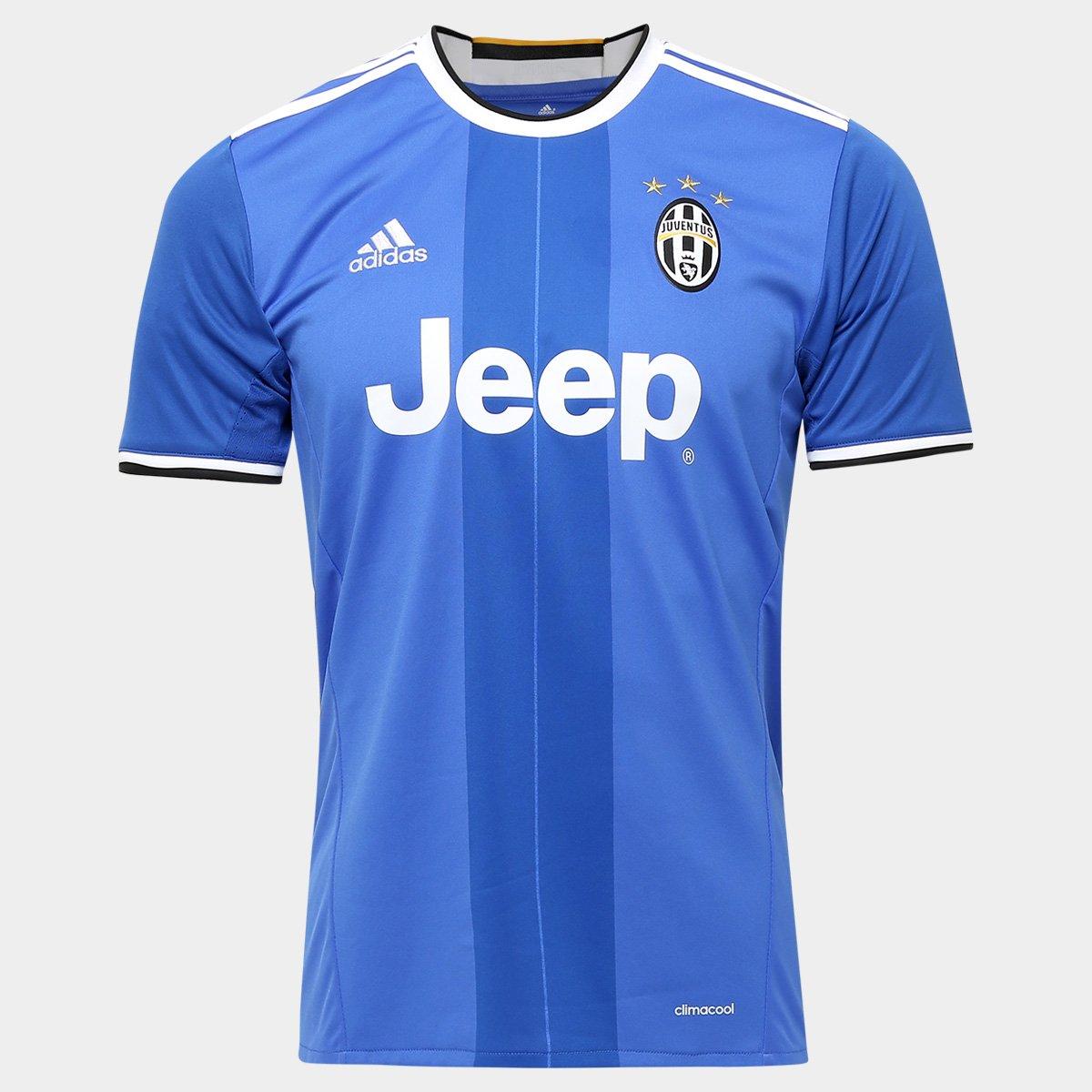 7436bf3175 Camisa Juventus Away 16 17 s nº Torcedor Adidas Masculina - Compre Agora