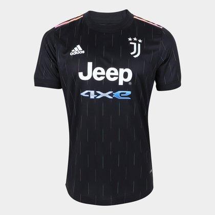 Camisa Juventus Away 21/22 s/n° Jogador Adidas Masculina