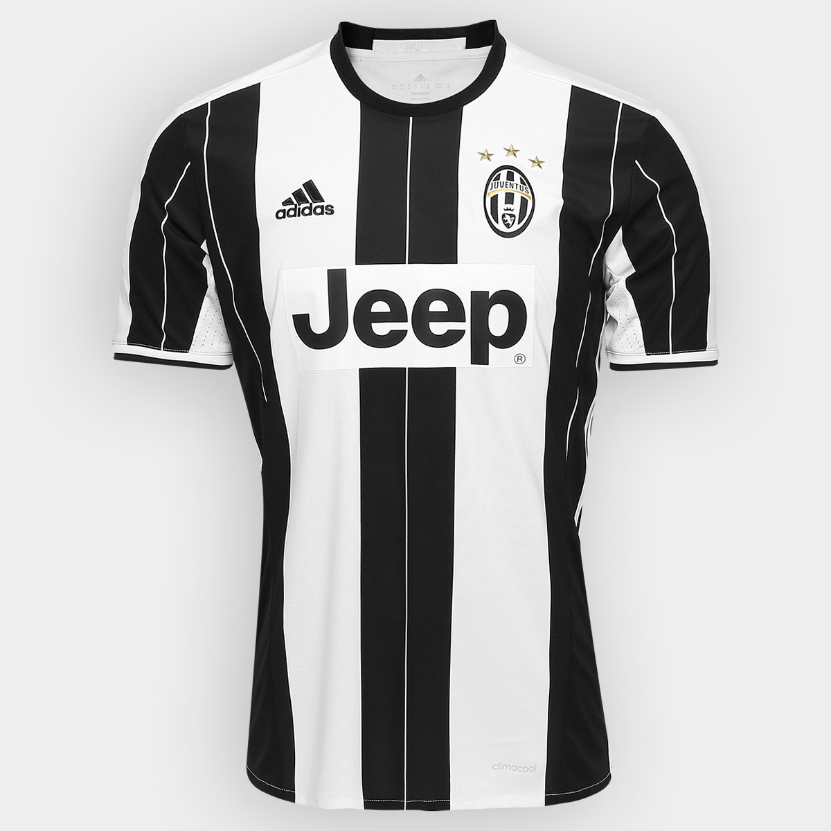Camisa Juventus Home 16 17 s nº - Torcedor Adidas Masculina - Compre Agora   42d4f175bdf46